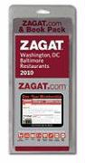 2010 Zagat.com Pack Washington, DC