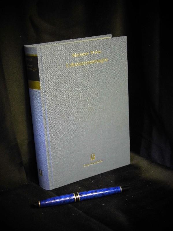 Lebenserinnerungen aus der Reihe: Bewahrte Kultur - Weber, Marianne
