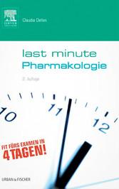 Last Minute Pharmakologie - Claudia Dellas