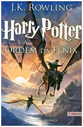 Harry Potter, portugiesische Ausgabe: Harry Potter e a Ordem da Fenix. Harry Potter und der Orden des Phönix, portugiesische Ausgabe - Nominiert für den Deutschen Jugendliteraturpreis 2004, Kategorie Preis der Jugendlichen - Rowling, Joanne K.