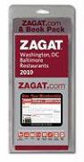 2010 Zagat.com Pack Washington, DC
