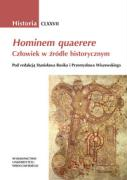 Hominem quaerere - Rosik, Stanislaw; Wiszewski, Przemyslaw (red. )