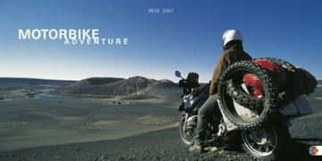 Motorbike Adventure Broschur quer 2007 - Martin, Michael